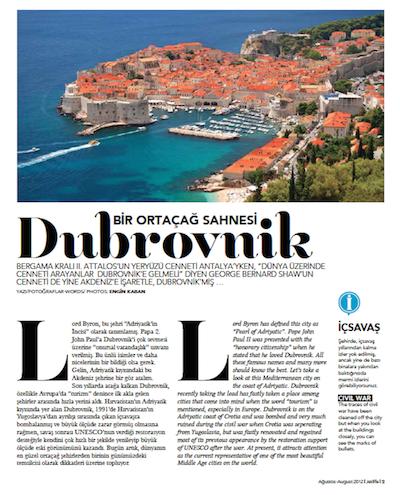 Dubrovnik A Medieval Scene