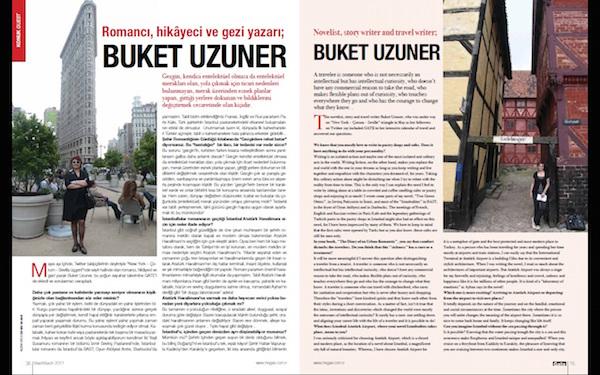 Interviewing author Buket Uzuner
