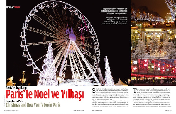 New Year's Eve and Christmas in Paris