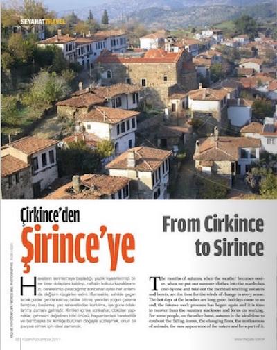Sirince Travel Blog