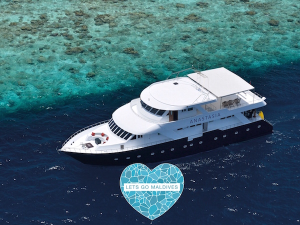 Anastasia Luxury Yacht Lets Go Maldives
